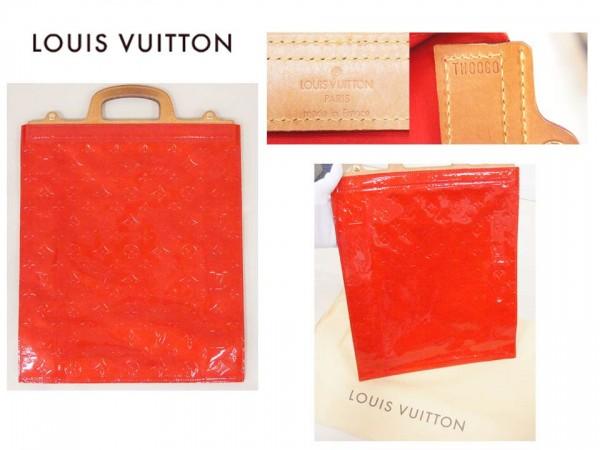 ★超レア商品★ルイヴィトン・廃盤のヴェルニ赤色「スタントン」