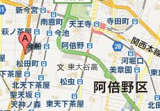 クイックドゥ88 花園店への地図